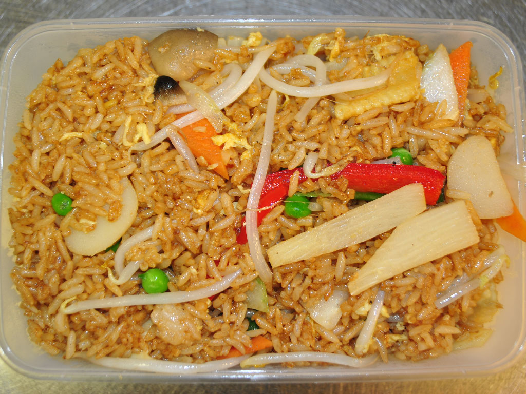how to make takeaway fried rice